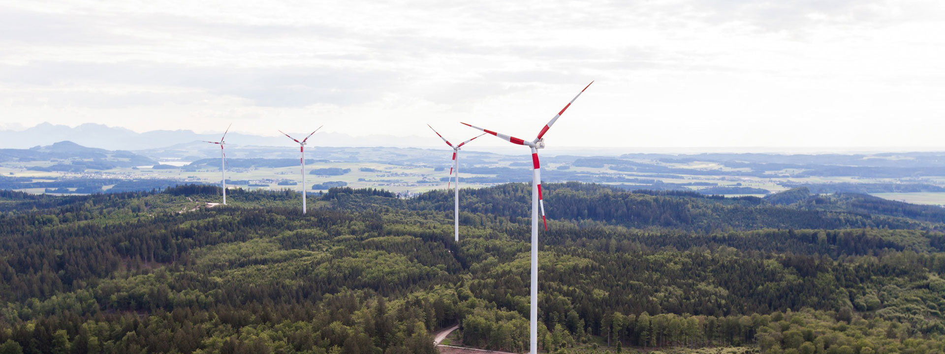 Windpark Munderfing in Oberösterreich